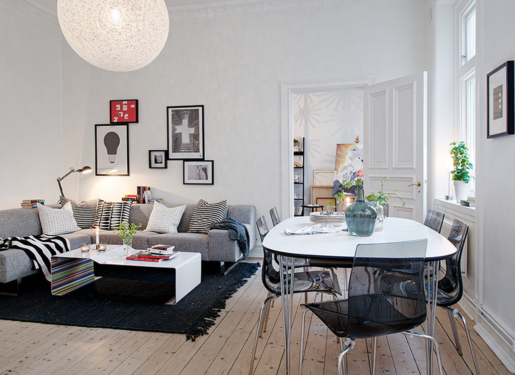 Stylish Swedish Room Design